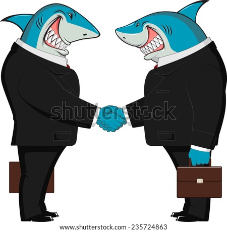 sharks in business