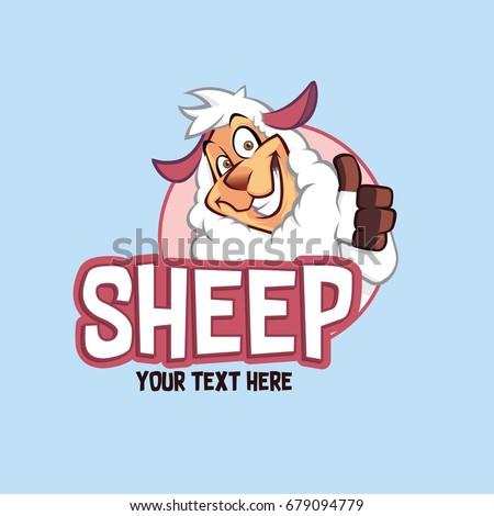 Sheep Character Illustration
