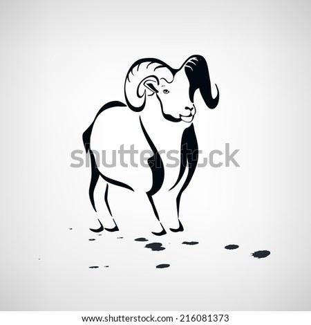 Sheep  stylized