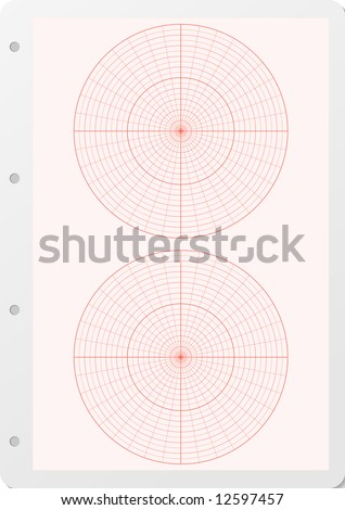 polar coordinate free graph