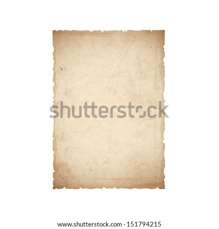 sheet of old paper vector eps10