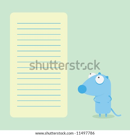 Sheet vector mouse