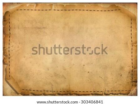 sheets of parchment