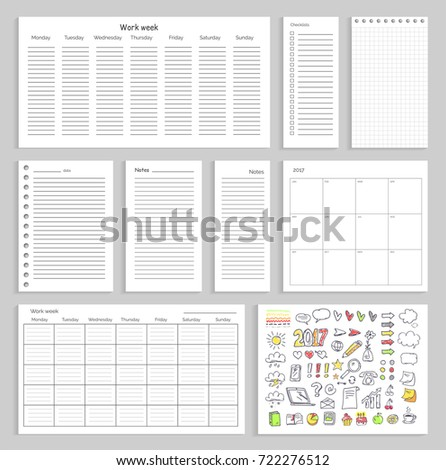 sheets with empty schedule