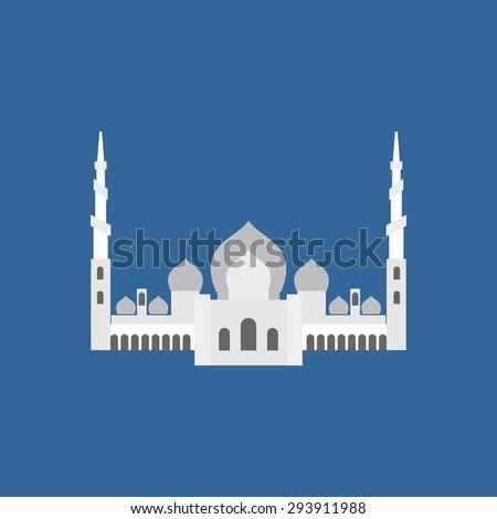 sheikh  grand mosque in abu