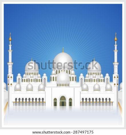 sheikh zayed grand mosque at