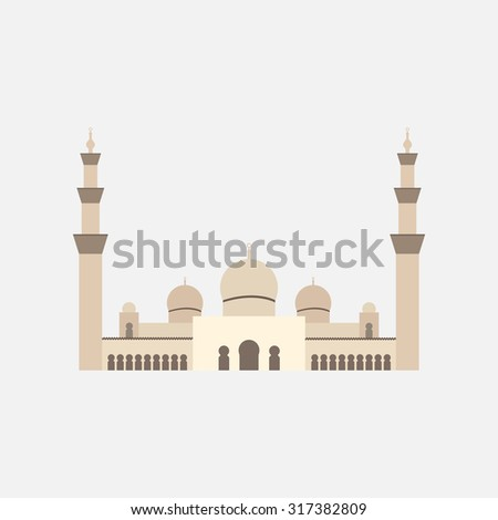 sheikh zayed grand mosque flat