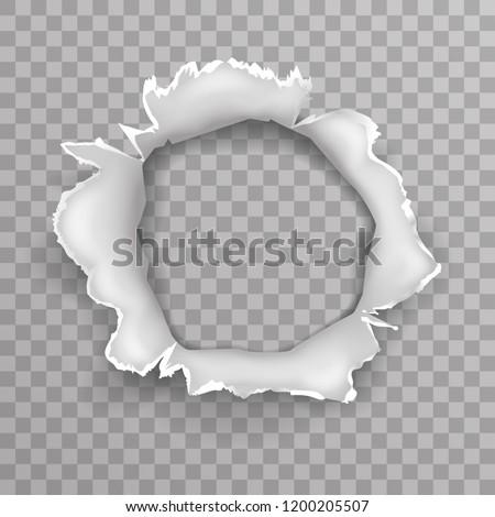 Shellhole blow bullet projectile explosion hole