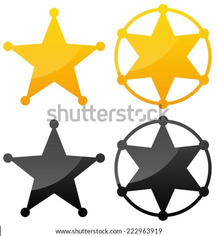 Sheriff's badges