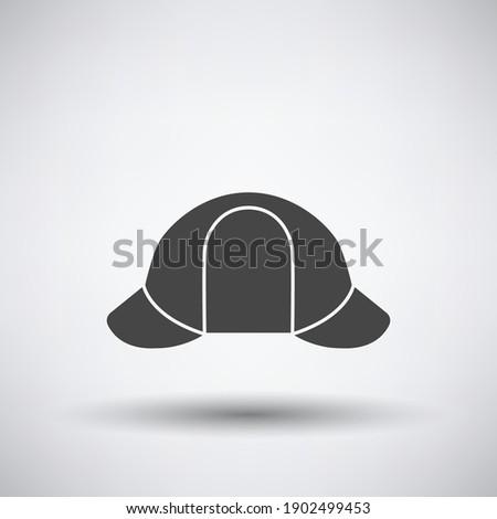 sherlock hat icon dark gray on