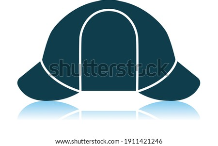 sherlock hat icon shadow