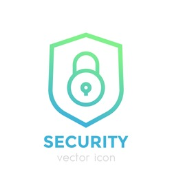 shield icon, security concept