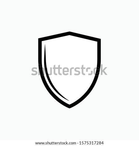 Shield Icon - Vector, Sign and Symbol  for Design, Presentation, Website or Apps Elements. Foto stock ©