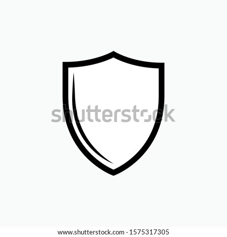 Shield Icon - Vector, Sign and Symbol  for Design, Presentation, Website or Apps Elements. Photo stock ©