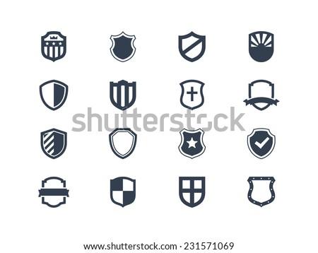 Shield icons