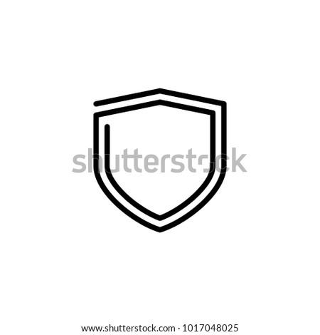 Shield Lineart Logo