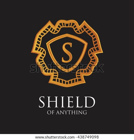 shield of anything luxury logo