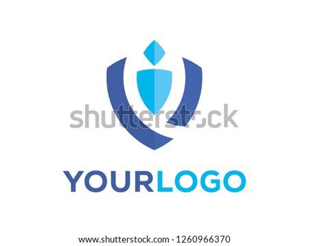 shield safety logo icon