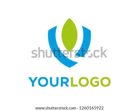 shield safety nature logo icon