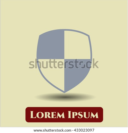 Shield (Safety) vector icon