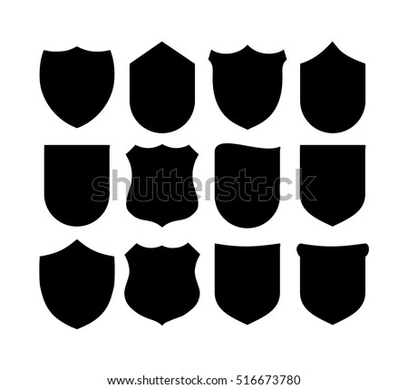 black and white shields download free vector art stock graphics rh vecteezy com vector shield crest vector shield mounting media