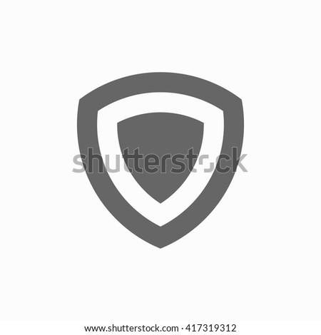shield shield icon flat