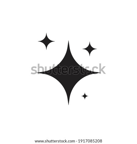 Shine icon design isolated on white background Сток-фото ©