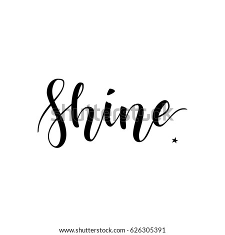 shine inspirational quote