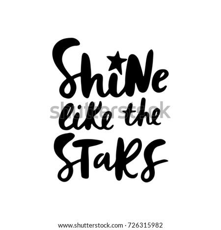 shine like the stars  unique