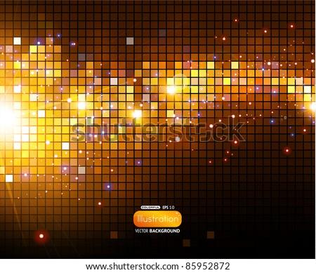 Shine mosaic background