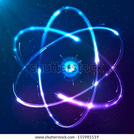 shining atom vector scheme