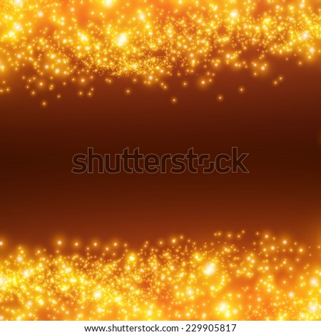 shining bokeh illustration