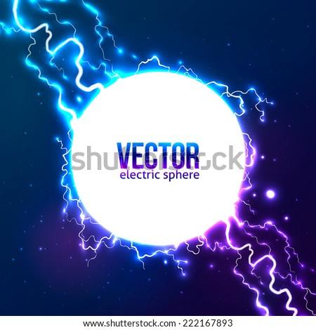 shining electric lightning