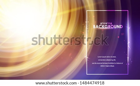 shining galaxy  swirl of sparks