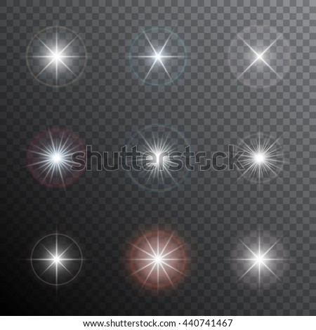 shining stars or other bright