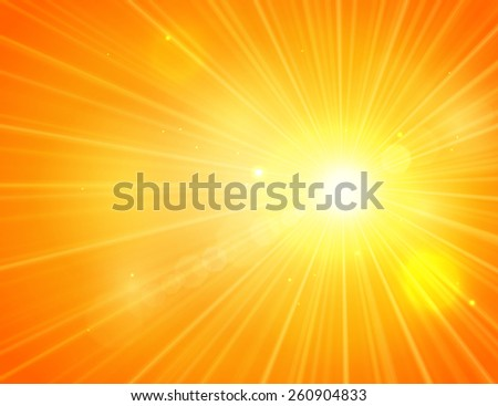 Shining summer background with blurred bokeh lights.