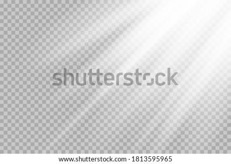 shining sun glare rays  lens