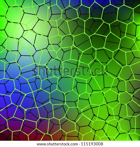 shiny abstract color water pattern - illustration