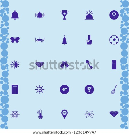 shiny icon. shiny vector icons set temperature snowflake, dining table restaurant, sun leaves and whisk