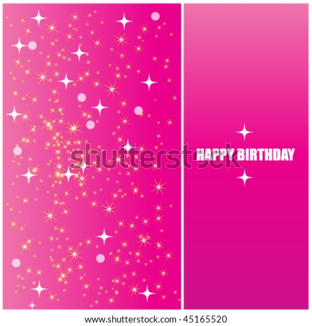 Happy Birthday Pink. pink happy birthday card