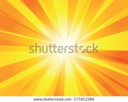 shiny sun vector ray background