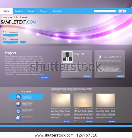 Shiny Website Template