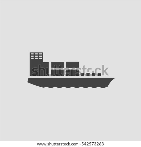 Ship icon, Ship icon vector