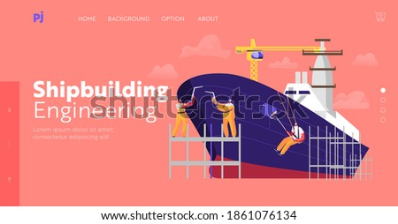 shipbuilding landing page