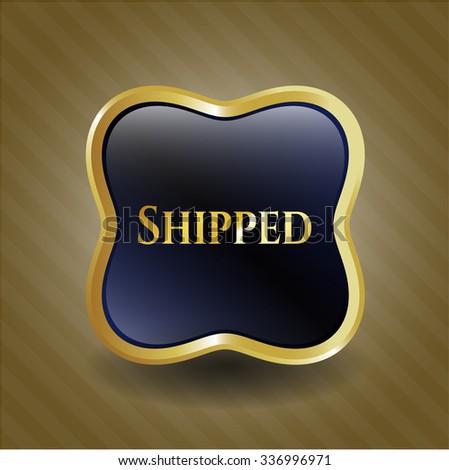 Shipped gold badge