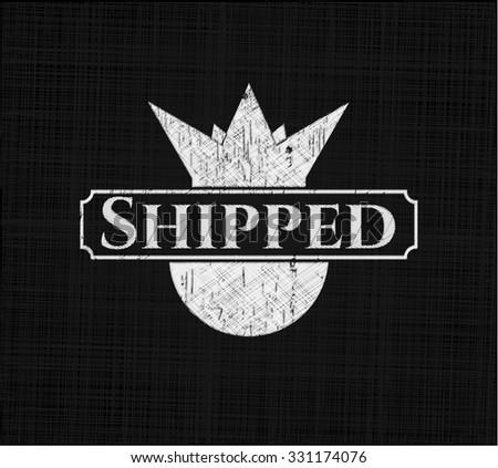 Shipped on blackboard