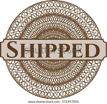 Shipped rosette (money style emplem)