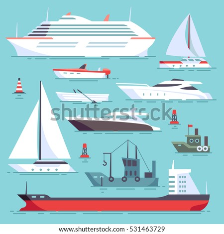 ships at sea  shipping boats