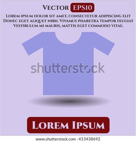 Shirt high quality icon