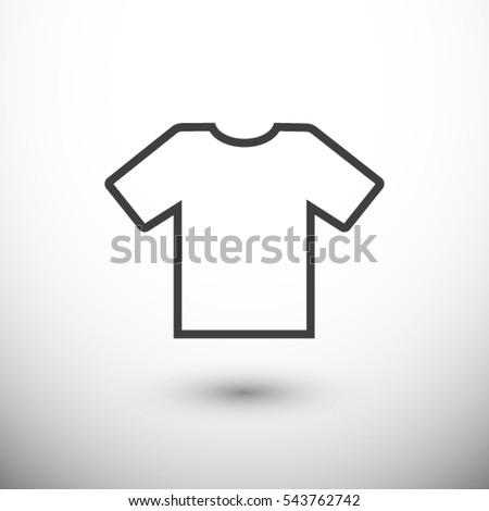 shirt icon. One of set web icons